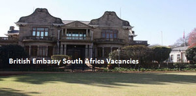 British Embassy South Africa Vacancies