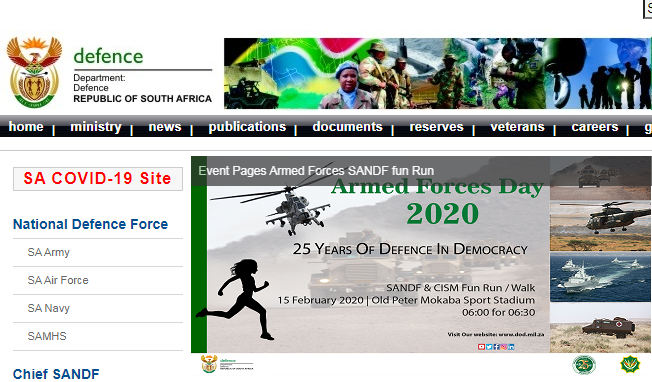 SANDF Vacancies 2021 - SANDF Careers Jobs Opportunity
