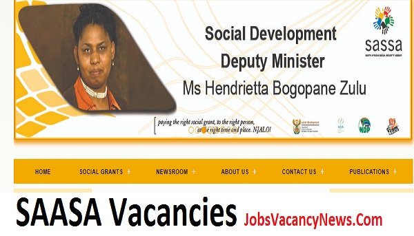 SAASA Vacancies 2021 - South African Social Security Agency Careers