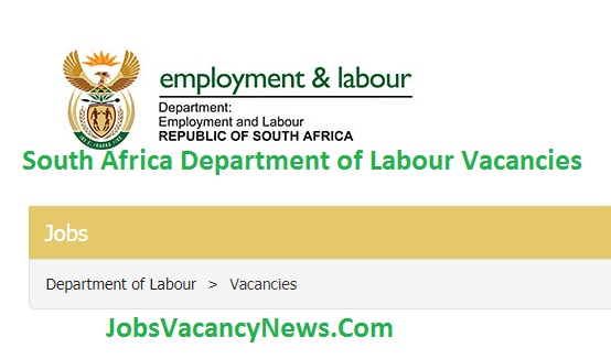 South Africa Department of Labour Vacancies 2021- Government Vacancies @www.labour.gov.za