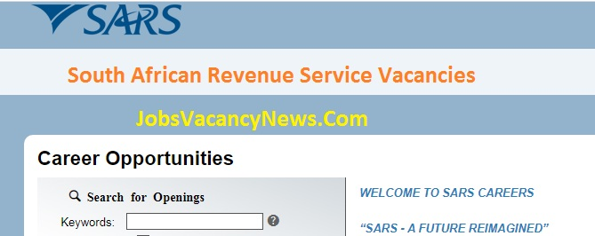 South African Revenue Service Vacancies