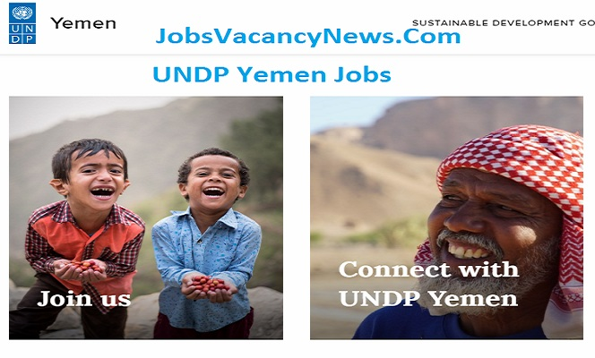UNDP Jobs in Yemen - Apply for Yemen UNDP Jobs