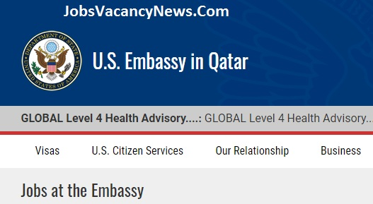 US Embassy Qatar Jobs - Apply for Jobs in Qatar US Embassy