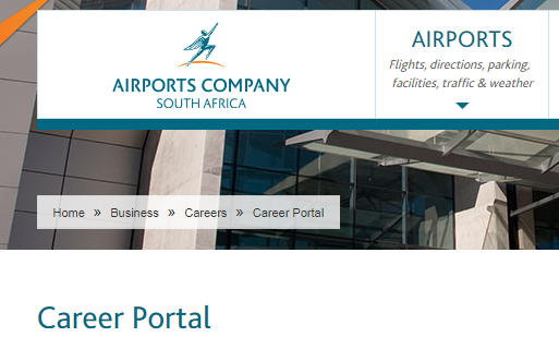 ACSA Vacancies 2021- Jobs in Airports Company South Africa