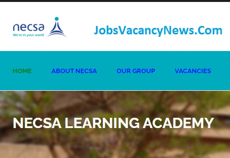 NECSA Vacancies 2021