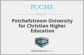 Potchefstroom University for Christian Higher Education 2021