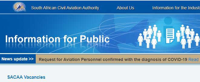 SACAA Vacancies 2021 Technical Jobs in South African Civil Aviation Authority