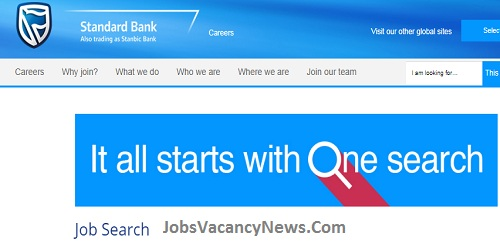 Standard Bank Vacancies 2021 - Apply for Standard Bank Jobs in South Africa